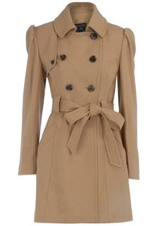 Dorothy Perkins Camel Trench Coat