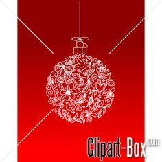 vector clipart, related with icons. Vector Clipart, Vector Free, Christmas Balls, Christmas Ornaments, Vector Design, Royalty, Clip Art, Abstract, Cards
