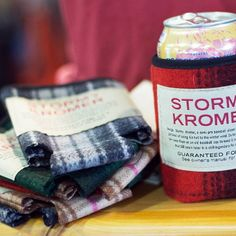 We're loving these @stormykromerofficial can wraps! 🙌 #ShopSmall