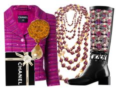 """CHANELAHOLIC"" by francoisefortier ❤ liked on Polyvore featuring Chanel"