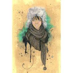 Elegant Fashion Illustrations Caroline Andrieu Sketches Stylish,... ❤ liked on Polyvore