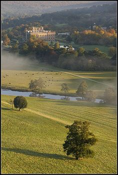 Chatsworth House, Derbyshire, United Kingdom/ THIS is one of the houses that Mrs. Bennet suggested that Lydia could live when she and her husband came back from the north country.