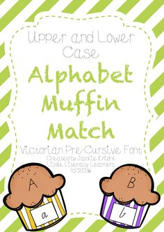 A literacy groups activity for practising matching upper and lower case letters.