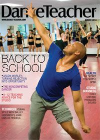 Jason Warley, our August 2014 cover star, makes sure all the students at Center Stage Dance & Theatre School have a place.