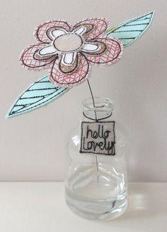 A Flower in a Bottle £8.00
