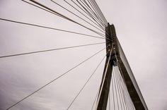 Bridge Construction, Sky, Perspective, Architecture