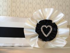Gala Black & White Couture Cake Stand via: Cake It Up, LLC