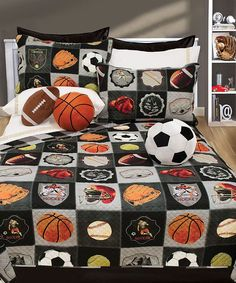 Look what I found on #zulily! All-Star Quilt & Sham Set #zulilyfinds