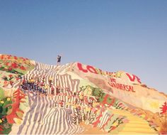 salvation mountain, near Palm Springs