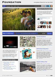 Foundation Theme Review - Organized Themes