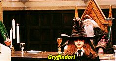 #2 - Sorting hat ceremony for Hermione Granger