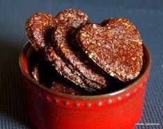 Zdrowo zakręcona: Proste i pyszne ciastka czekoladowe. Bez mąki i cukru. Tylko 3 składniki!