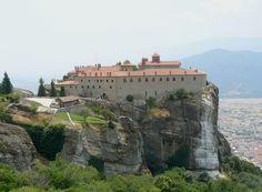 St. Stephen's Monastery (moni Aghiu Stefanu), Meteora, Greece.