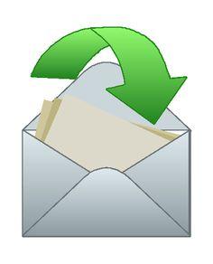 Image for Envelope 2 Household Clip Art
