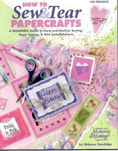 Sew & Tear Papercrafts 100 Projects  by CraftySupplyAddict on Etsy, $4.50