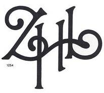 MR. MULE's TYPOGRAPHIC SHOWROOM AND EMPORIUM: Modern monograms: 1310 graphic designs