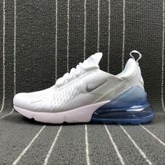 0100d4ac4d523 Adaptable Nike Air Max 270 Retro White   Blue Men s Casual shoes Sneaker  AH8050-100