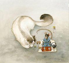 Frédéric Saurel - illustration originale - Le Monde selon Ra