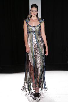 Couture Collection, Weave, Tassels, Bodice, Dresses, Fashion, Moda, Vestidos, Fashion Styles