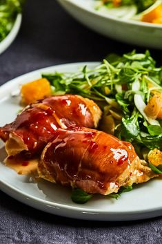 Cooking Recipes, Healthy Recipes, Prosciutto, Brunch Recipes, Mozzarella, Poultry, Food To Make, Chicken Recipes, Pork