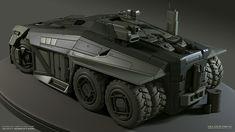 APC - Scott Robertson   Modeled by Helder Pinto