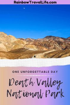One Interesting Day in Death Valley National Park Death Valley National Park, Best Hikes, National Parks, Hiking, Walks, Trekking, Hill Walking, State Parks