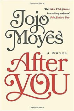 After You by Jojo Moyes - I really pumped up Me Before You and I'm happy to say I was pleased with the sequel.http://www.readbooked.com/blog-1/2015/12/25/after-you-by-jojo-moyes