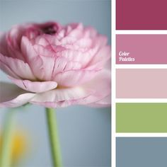 Gentle color solution of this palette is suitable for wedding decoration. This color combination is also appropriate in bedrooms..