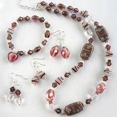 Special Value Jewellery Kit  Pretty in Pink by Bluestreak Beads £8.99
