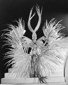 ♕ Vintage Costume Variations ♕ Gilbert Adrian, costume from The Great Ziegfield, 1936.