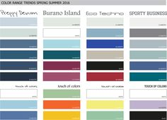 Colors Range Menswear Trend Spring Summer 2016
