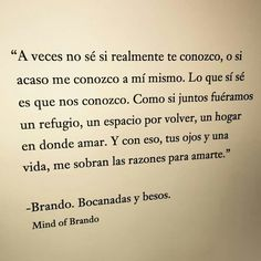 mind of brando- bocanadas y besos
