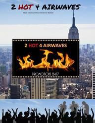 2 HOT 4 AIRWAVES by Yvonne Wilcox, Pen Name, Marketing,Promotion