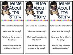 Fun in First Grade: Daily 5 free read to someone bookmarks