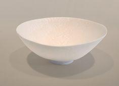 "DOROTHY FEIBLEMAN BOWL  Soft paste porcelain, nerikomi technique  2.5"" high x 6"" diameter"