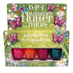 Timtam: OPI Summer Flutter Collection ~ Summer 2010
