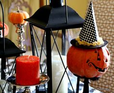Halloween Tablescape Link Party