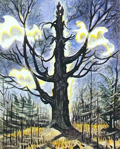 Artworks by Charles Ephraim Burchfield