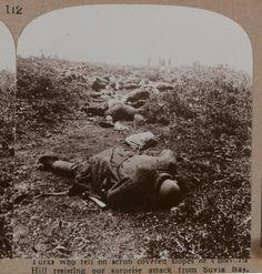 Ottoman soldiers who died during the British assault from Suvla Bay during the Gallipoli campaign, Gallipoli Campaign, Last Battle, Turkish Army, Killed In Action, Man Of War, Troops, Soldiers, World War I, Military History