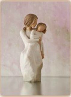 Willow Tree Figurine Mother Daughter Laughter with love... always...