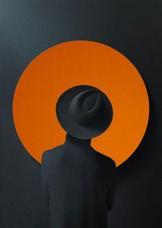 Me gusta el contraste entre el naranja y el negro