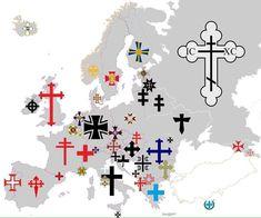 Crosses of Europe