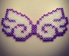 Angel wing hama beads  http://handcraftpinterest.blogspot.com/
