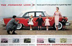 1955 Dodge Custom Royal Lancer Sedan  | #RetroReveries