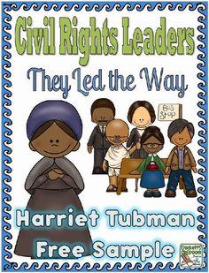 Harriet Tubman Freebie--- Informational text and activities. Teaching Social Studies, Student Teaching, Teaching Ideas, Creative Teaching, Teaching Writing, First Grade, Third Grade, Grade 3, Fourth Grade
