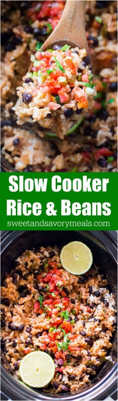 Slow Cooker Rice and