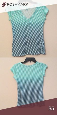 Blue Tee Good condition:) 100% Cotton. Size Junior Medium but fits as a small. SO Tops Tees - Short Sleeve