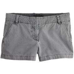 """J.Crew 3"""" Chino Short ($60) ❤ liked on Polyvore"""