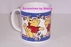 Disney Winnie Pooh Honey Bees Coffee Mug Cup England