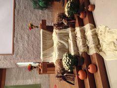 Church thanksgiving display